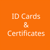 ID Cards & Certificates